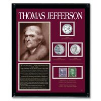 NEW American Coin Treasures Jefferson Framed Collection
