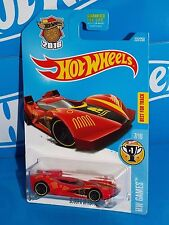 Hot Wheels 2016 HW Games Series #237 Scoopa Di Fuego Red