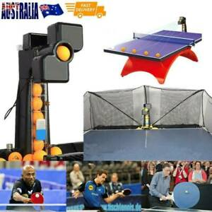 JT-A Automatic Ping-pong Ball Machine Table Tennis Robot Practice Recycle Net