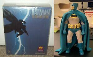 2014 Batman PX EXCLUSIVE Mezco One:12 Figure Light Blue Dark Knight Returns TDKR
