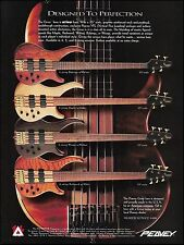 The 1997 Peavey Cirrus Series 4 5 6 string bass guitar ad 8 x 11 advertisement