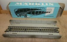 Märklin H0 7161 Plate Girder Bridge Blechbrücke Sheet Metal Spotless Boxed