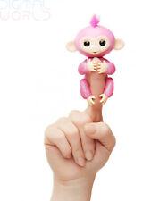 Fingerlings Glitter Monkey - Rose (Pink Glitter) - Interactive Baby Pet - By...