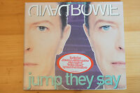 Rare David Bowie Jump They Say 6 Track CD BMG Mint CD Case has Wear Carded