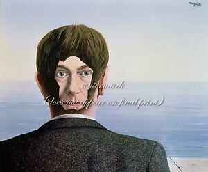 """RENE MAGRITTE Surrealism Art Painting Poster or Canvas Print """"The glass house"""""""