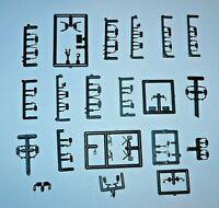 HO Ersatzteile Plastik Modell LKW Spiegel und 2 Scheibenwischer Herpa ROCO usw