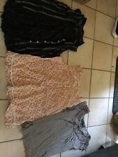 3 Ladies Womens Summer Tops Size 12 Next F&F Atmosphere