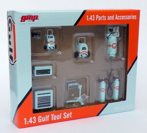 GMP 1/43 Scale Parts & Accessories 14313 - Gulf Tool Set