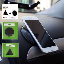 10x Car Gel Pad Wall Stickers Glue Stick Phone Sticky Mat Tablets Sat Nav Gadget