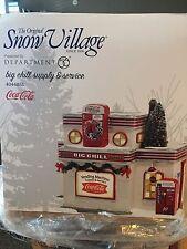 Dept 56 Snow Village Coca Cola Big Chill Supply & Service 4044861