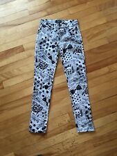 NWT 12 yr Avril Lavigne ABBEY DAWN DipDye Pink JEANS PANTS