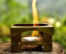 Small Portable Collapsible Camp Stove with Fuel Tablets ~ New ~ Free Shipping