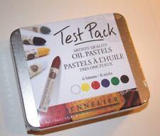 Sennelier Oil Pastel 6 Colors (Scratched Tin)