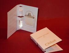 2 Stück LOVE STORY von Chloé  Probiergröße - Duftprobe  NEU je 1.2 ml