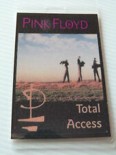 Pink Floyd Laminated TOTAL ACCESS Tour Pass - Division Bell 1994