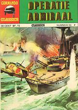 COMMANDO CLASSICS 23 - OPERATIE ADMIRAAL (1975)