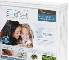 Mattress Cover Twin XL + Pillow Cover Dorm Room Size Bed Bug Proof Waterproof