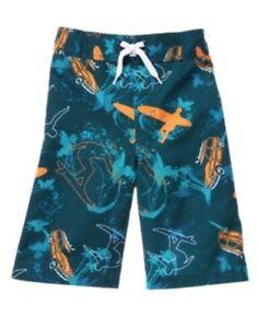 GYMBOREE SWIM SHOP BLUE SURFER SWIM TRUNKS 3 4 5 6 NWT