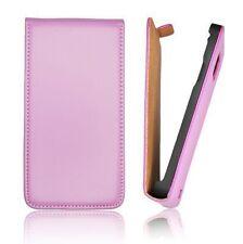 Etui Façon Cuir Violet Flip Case Coque leather case purple for HTC DESIRE X