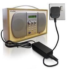 DC 9V Mains Power Supply Adapter Adaptor Charger for PURE Chronos CD iDock RADIO