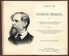 Biography Life of Charles Dickens (Christmas Carol, Oliver Twist, etc) 1870