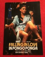 RETRO POSTCARD NEW - SKY VODKA FALLING IN LOVE IN PONGO PONGA  BREWMANIA (KK13)