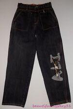 Platinum FUBU Muhammad Ali Limited Edition Baggy Hip Hop Jeans Tag Size 32x34