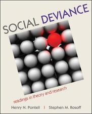 Social Deviance : Readings in Theory and Research by Henry Pontell and Stephen M