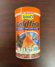 Tetra Goldfish Fish Food Vitamin C Flakes ~Clearer Water Complete Diet EXP 06/23
