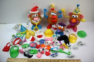 Hasbro Mr Potato Head 60+pc Lot w/ Accessories