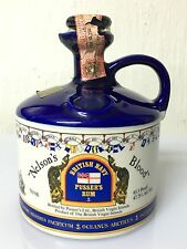 Nelson's Blood British Navy Pusser's Rum 75cl 47.75% 95.5 Proof Ceramica Vintage