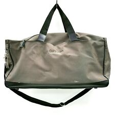 Calvin Klein Bag Large Travel Luggage Grey Handle Shoulder Strap Casual 282009