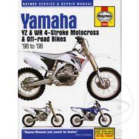 Yamaha YZ 450 F 2008 Haynes Service Repair Manual 2689