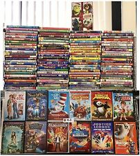 KIDS MOVIE & TV SHOWS! 100 WHOLESALE LOT! BULK COLLECTION DISNEY, PIXAR, & MORE!