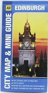 Edinburgh City Map & Mini Guide