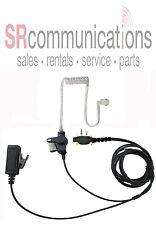 Surveillance Acoustic headset W/PTT for Icom F3001 F4001 F3011 F4011 F14 F24 F21