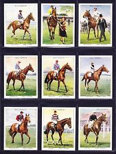 Wills RACEHORSES & JOCKEYS 1938 Set Of 40 *VG Condition*