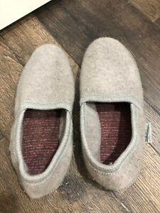 Men's Wesenjak Boiled Wool Gray Slipper Size 10