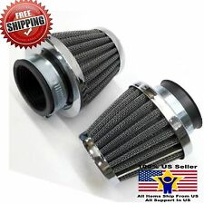 Air Filter 38mm Chinese 70 90 110 125cc ATV Quad Pit Bike GY6 50 Scooter 2PC