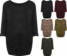 Leopard Knit Tops & Blouses for Women