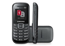 Samsung GT-E1207Y Dual Sim Keystone 2- Black (Unlocked) Brand New (Use Any SIM)