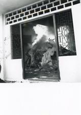 Vietnam, Pillage de l'hôtel Majestic  Vintage silver print Tirage argenti