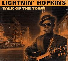 CD - LIGHTNIN' HOPKINS - Talk of the town