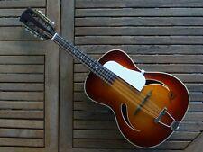 Mandoline Framus Jazz Archtop années 50/60 style guitare Archtop