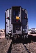 Parker Peavine Extra Railroad Train ASH FORK AZ Original 1985 Photo Slide