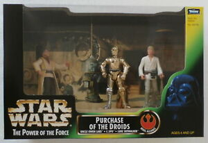 Star Wars Power of the Force Purchase of the Droids (Hasbro, 1997) New in Box