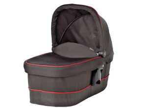 Graco Evo XT Carry Cot for EVO Pushchair Black with Red Piping For New Borns NEW