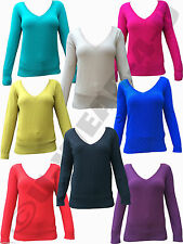 Women's Viscose V Neck Jumpers & Cardigans