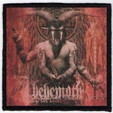 BEHEMOTH PATCH / SPEED-THRASH-BLACK-DEATH METAL