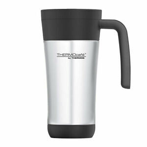 Thermos 425ml ThermoCafé Stainless Steel Travel Mug Vacuum Insulated 2-Wall